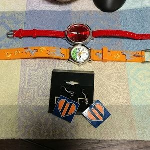 Other - Watch and earring set